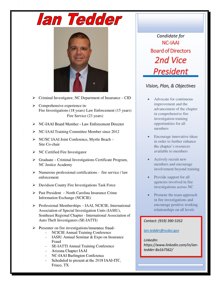 Tedder 2nd VP Candidate page 0