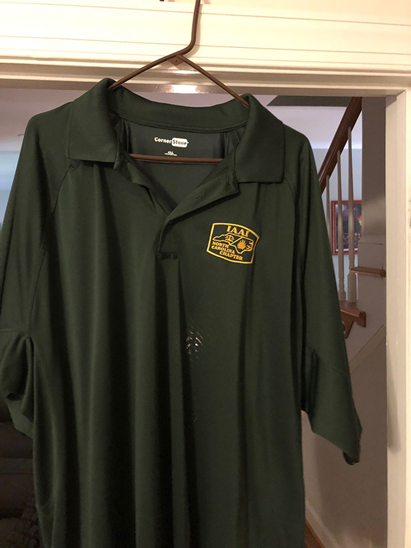 green tactical golf shirt