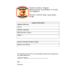 Membership Educational Scholarship Application